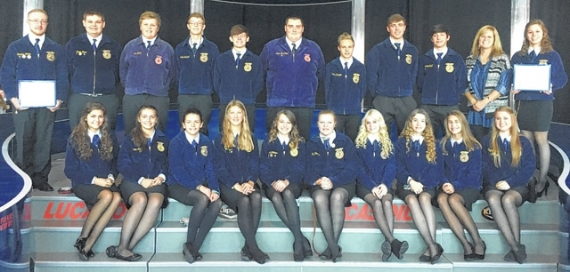 The WL-S FFA Chapter heard a variety of inspirational speakers during a convention in Indianapolis.