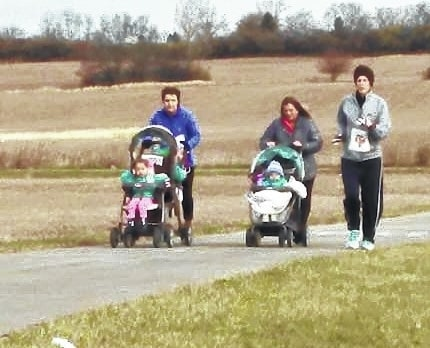 The Champaign Family YMCA's 2nd annual Turkey Trot starts at 8:30 a.m. on Thanksgiving morning. Shown are a few of last year's participants. Individuals and families are welcome to join other runners and walkers for a 5k route along the Simon Kenton Trail leading from the Y into Melvin Miller Park and back. Additionally, a one-mile Gobbler Dash will take place for families not seeking the longer distance. More than 50 people are expected to participate. Entry fees are $20/person; $15/for additional family members; $10 for children older than age 3. Pre-race check-in will start at 7:45 a.m. inside the YMCA lobby. For additional information call the YMCA at 937-653-9622.