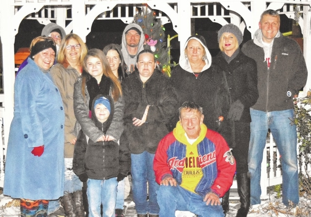 Mechanicsburg residents held a candlelight vigil in memory of deceased children on Dec. 11.