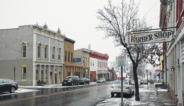 The majority of South Main Street in downtown Mechanicsburg could be part of the village's Historic Main Street Zoning Overlay District. The village council is expected to vote on an ordinance establishing the district Jan. 2.