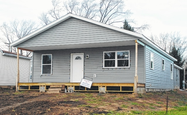 Habitat for Humanity of Champaign County Ohio will hand over the keys to its newest home build to Barb Brooks on Saturday during a dedication ceremony at the 218 Harmon Ave. property in Urbana.