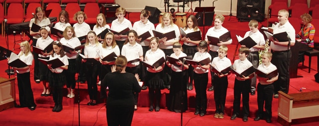 The Champaign County Youth Choir will present its annual holiday concert at 2 p.m. Sunday, Dec. 11, at the First Presbyterian Church on West Court Street in Urbana.