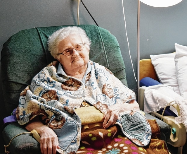 Martha Frost of Urbana turns 100 today.