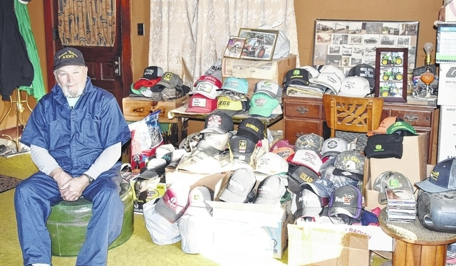 DeGraff resident Bob Thompson has over 1,750 baseball-style hats in a collection that spans decades.