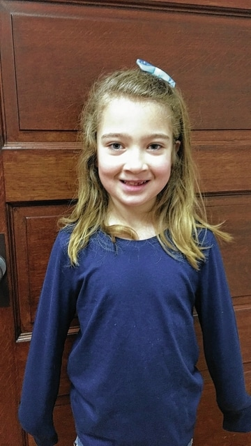 Miley-Bell King, Urbana North Elementary Student of the Month