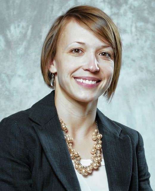 Lydia Hess has been tapped to lead the Chamber of Commerce.