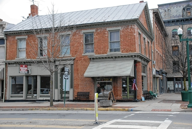 In 2016 CCPA commercial matching grants were awarded for preservation projects, including this location at 100 S. Main St.