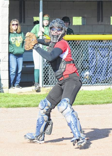 Triad's Abby Ehrenborg (pictured) will be one of the area's top returners in softball this season.