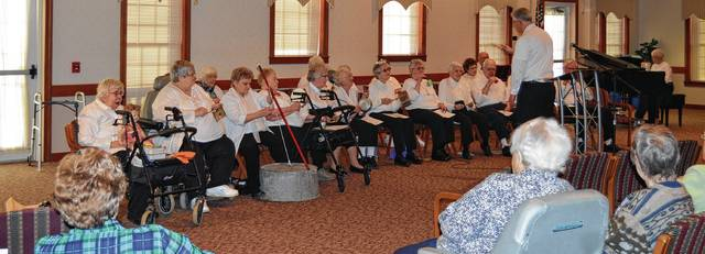 The Green Hills Kitchen Band performs at Green Hills' Foundation Hall. The group is among entertainers scheduled for July's West Liberty Bicentennial Celebration.