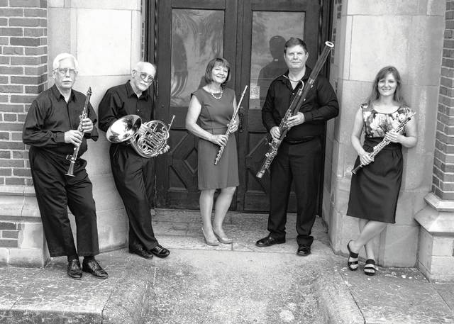 The Wittenberg Woodwind Quintet will perform April 23 at the Champaign County Arts Council gallery.