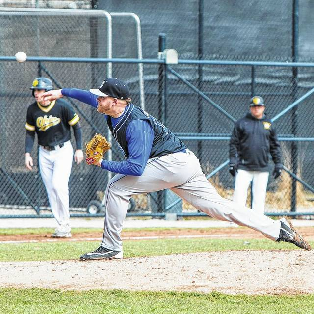 Dalton Greenwalt (pictured), a West Jefferson High School graduate and member of the Urbana University baseball team, is set to graduate on Saturday.