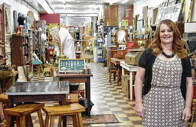 Michelle Smith is the new owner of Kaleidoscope in downtown Urbana.