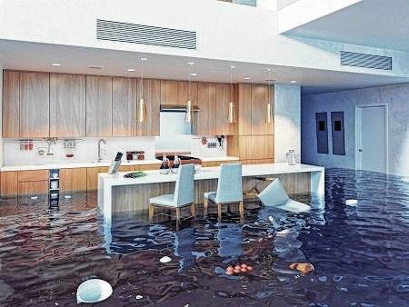 The best way to avoid the potential for foodborne illness after a flood is to throw away all foods not contained in waterproof packaging.