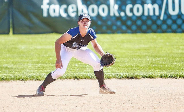 Urbana University shortstop Caitlyn Stoner (pictured) has been selected to the All-MEC First Team.