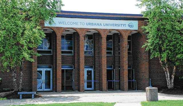 Located on the south end of campus, the Warren G. Grimes Center is arguably Urbana University's most well-known building.