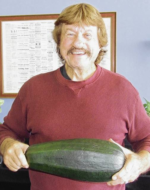 Stan Gilliam Sr. of Urbana wanted to share his 6 pound, 5.4 ounce zucchini with readers.