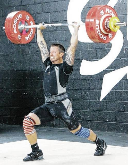 Local teacher, coach and business owner Nate Long competed at the USAW Ohio Weightlifting State Championship Meet and broke 3 state records in his age class: The Previous Ohio masters records (age 35-39) 85kg class; Snatch-since 2001-107.5kg (236.5lb), new record 112kg (246.4lb); Clean and Jerk since 2007-127kg (279.4lb) new record 143kg (314.6lb); Total weight since 2001-230kg (506lb) new record 255kg (561lb). A 7th grade Urbana Math and World Studies teacher, he coaches 7th grade boys basketball and owns Long Road CrossFit, a 4-year-old business that has seven trainers and members from 6 to 70 years old.