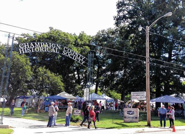 The Champaign County Historical Society will host its 45th annual Oktoberfest on Sunday, Oct. 1, on the grounds of its museum at 809 East Lawn Ave. Pictured is the museum grounds during the 2016 Oktoberfest.