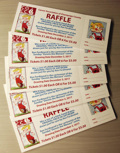 Tickets are on sale now for a one-of-a-kind raffle to benefit local cancer patients.