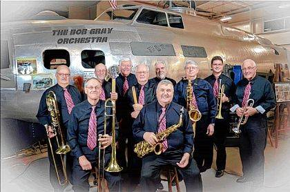The Bob Gray Orchestra will entertain diners and dancers at the Nov. 11 event.