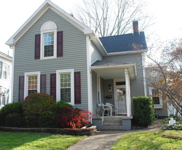 Bob and Tammy DelPico own this home at 445 E. Court St. It is one of 5 homes on the 2017 Cancer Association of Champaign County Candlelight Tour of Homes on Dec. 2.