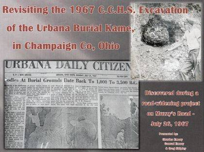 The <em>Daily Citizen</em> did a story-photo spread of the 1967 excavation of an ancient burial site discovered during a road project on Muzzy's Road.