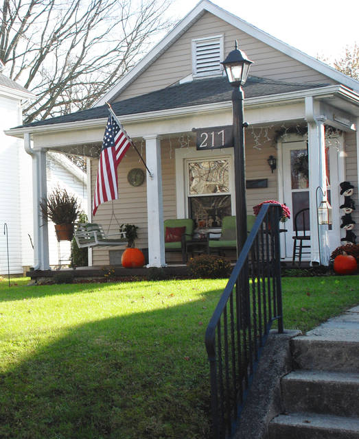 Mikola Neeld owns this home at 217 E. Ward St. It is one of 5 homes on the 2017 Cancer Association of Champaign County Candlelight Tour of Homes on Dec. 2.