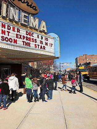 "Students from Champaign County students attended the anti-bullying movie ""Wonder"" at The Gloria this week."