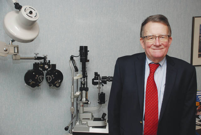 Dr. John Collins is retiring after more than 50 years as an optometrist in Urbana and nearby communities. The mild-mannered, bespectacled doctor will bid farewell to his practice of optometry on Friday, Dec. 29 at the Urbana office on North Main Street. The open house is set for 3:30 p.m.