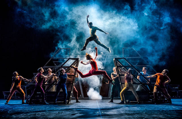 Artistic and acrobatic, DIAVOLO will dance Feb. 9 at the Clark State Performing Arts Center.