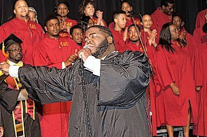 The Central State Chorus will stage a celebration of American music at the Clark State Performing Arts Center on Feb. 2.