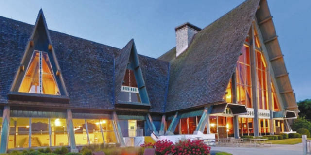 Hueston Woods Lodge Resort is a one-of-a-kind place located just north of Miami University near Oxford.