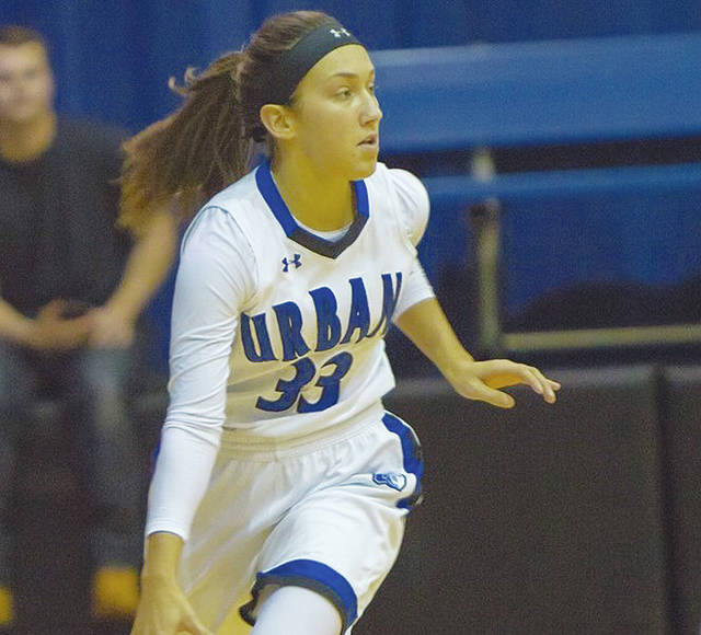 UU's Megan Beachy (pictured) had 16 points in a 74-70 loss to Fairmont State.