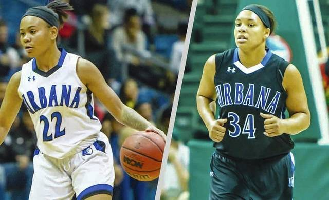 UU's Stefanie Davis (left) and Sylvia Hudson have earned All-MEC honors.