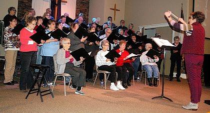 "The Urbana United Methodist Church choir, directed by Jacquelyn Howell, will present the Easter cantata ""Who Is This King?: Royal Servant … Rejected Friend … Risen Christ!"" by Lloyd Larson and Joseph Martin at 4 p.m. Palm Sunday, March 25. The public is invited to the performance at the church, 238 N. Main St. The choir will be accompanied by pianist Sue Maurice; Carrie Beitzel, Ellie Blanton and Maggie Blanton, violin; Tyler Lookabaugh, double bass; MacKenzie McGill and Theisa Dohner, flute; Karen Hayden and Laura Lynch, clarinet; and Lisa Groves, oboe and English horn."