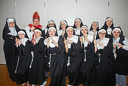 "Urbana High School will present ""Sister Act"" under the direction of Rusty Myers on Friday, March 16, at 7:30 p.m. and on Saturday, March 17, at 2:30 and 7:30 p.m. Tickets for the evening performances can be pre-ordered by calling the choir office at 937-653-1423. Tickets are $8 for students and seniors and $10 for adults. Tickets may be purchased at the door for $10. The matinee performance is free. Donations will be accepted. Doors will open one hour before show times."