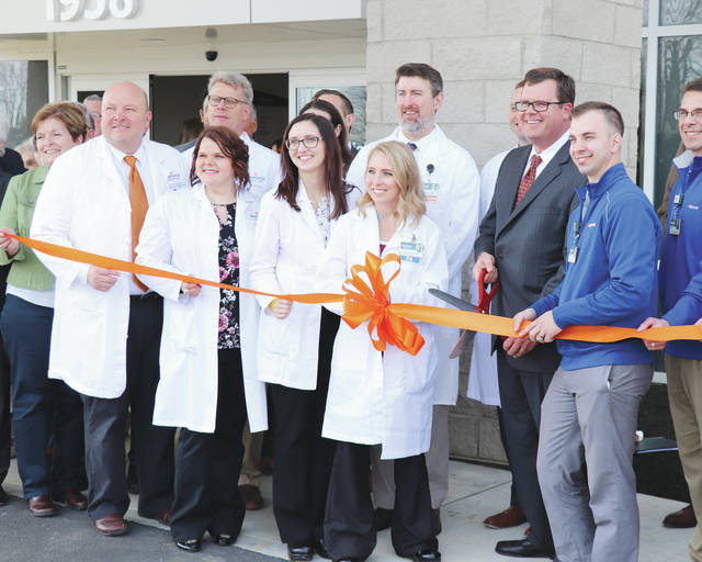 Officials from Memorial Health and Champaign County celebrated the opening of the Memorial Urbana Medical Center Thursday during a grand opening ceremony. Residents were able to tour the new 30,000 square-foot outpatient medical center prior to services at the facility starting on Monday.
