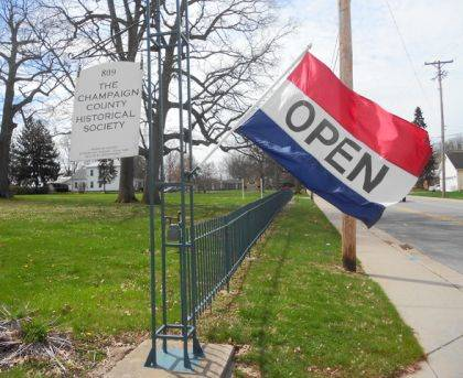 "The Champaign County Historical Society will be open 1-5 p.m. on Sundays starting this Sunday. The museum will continue to be open 10 a.m.-4 p.m. Mondays and Tuesdays. The museum is located at 809 East Lawn Ave., Urbana, and is open to the public free of charge. ""Most Champaign Countians recognize that we are an all-volunteer organization and are not able to hire staff to operate the museum at this time,"" CCHS President Dan Walter said. ""That said, we have worked hard to recruit additional volunteers and will be opening on Sunday afternoons on a trial basis. We encourage others interested in helping to call the museum at 937-653-6721."""