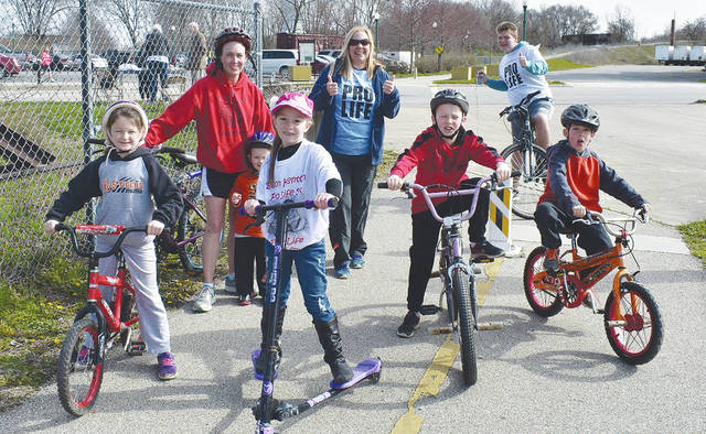 Champaign County Right to Life held its annual Simon Kenton Pro-Life 5K run/walk/bike event on April 21. Runners, cyclists and supporters of the participants gathered at The Depot for the event along the bike path.