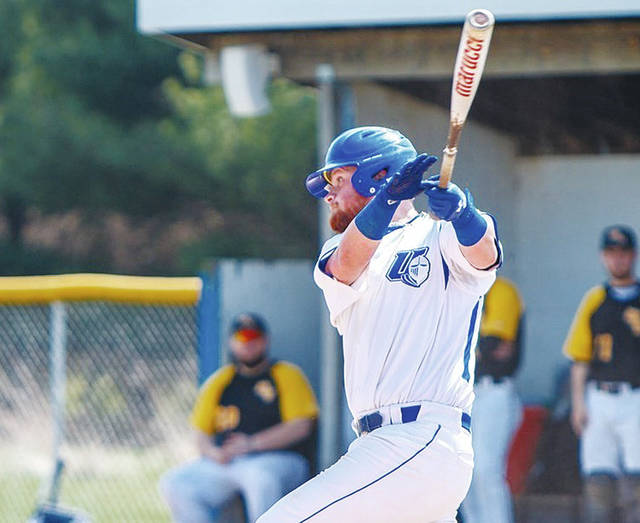Urbana University's Connor Coy (pictured) had RBIs in both games on Saturday.