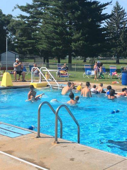 Due to Urbana schools letting out early this year, the pool at Melvin Miller Park will be open for swimmers, waders and sunbathers starting Saturday.