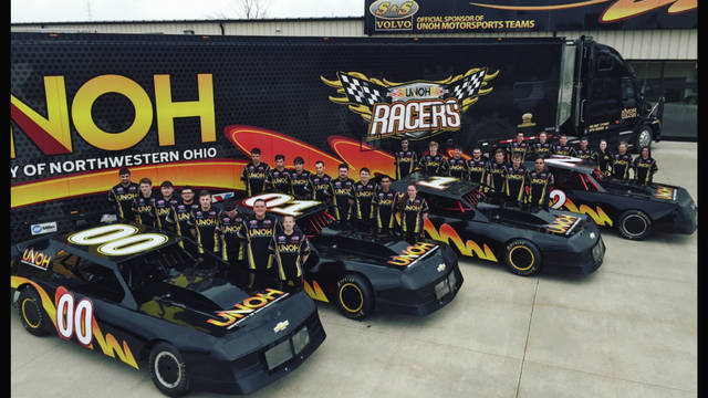 "Most schools have a football team. UNOH has a fleet of racing teams and operates its ""NASCAR Home Track."" Thousands of UNOH graduates are working for professional racing teams and organizations all over the world, including NASCAR."