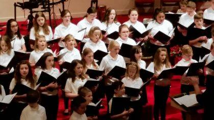 The Champaign County Youth Choir is pictured from a past performance.