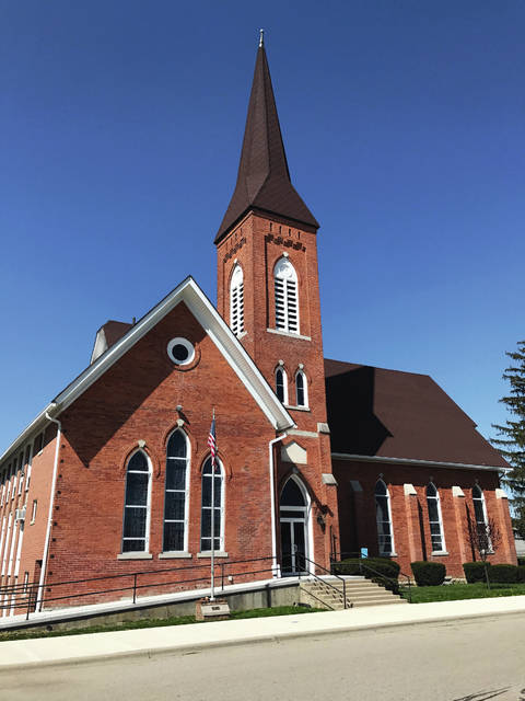The St. Paris United Methodist Church is one of several structures on the Home & Garden Tour.