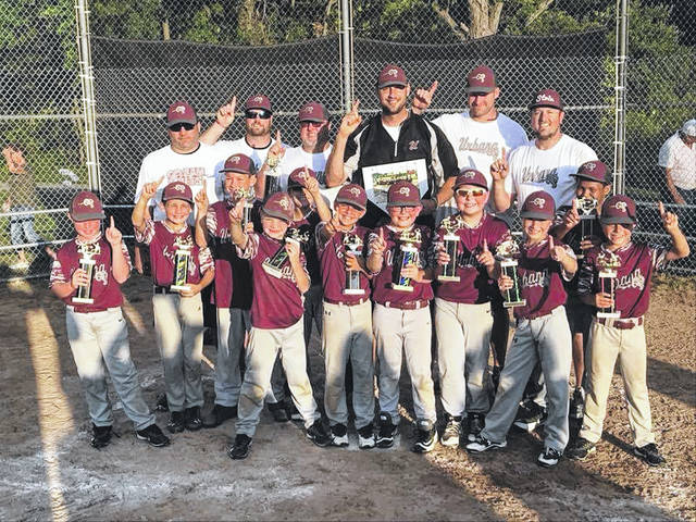 The Urbana Ramjets 8U baseball team won the 2018 Ohio Rec All-Star Tournament in Gahanna on July 21.