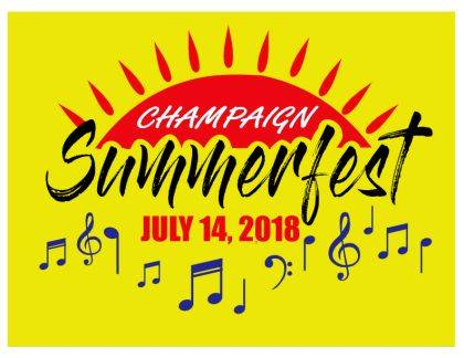 Champaign Summerfest is set for July 14 in Melvin Miller Park. The day will be loaded with family fare, including the Passport to Fishing Program for kids.