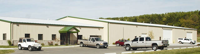 Pictured is Suthphen Corporation's new Service, Parts and Refurbishment Center at 49 N. Ludlow Road, Urbana.