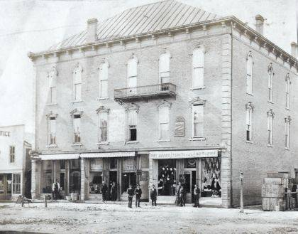 "On Sunday Aug. 19, at 2 p.m. at the Champaign County Historical Society Museum, Dale Thornton, who was born and raised in St. Paris, will present the history of that ""warm and friendly town"" founded in 1831. The presentation will include photos such as this downtown scene from Thornton's collection. The museum is located at 809 East Lawn Ave., Urbana. The society is an all-volunteer, not-for-profit organization that preserves, protects, archives and displays the artifacts that tell the Champaign County story. The Society depends upon donations and dues to provide a free public museum located at 809 E. Lawn Ave., Urbana. The museum is open from 10 -4 p.m. Mondays and Tuesdays and from 1-4 p.m. Sundays."