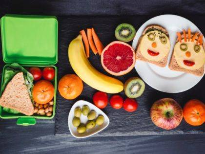 Pack school lunches with healthy food and make sure cold items stay cold and hot items stay hot.