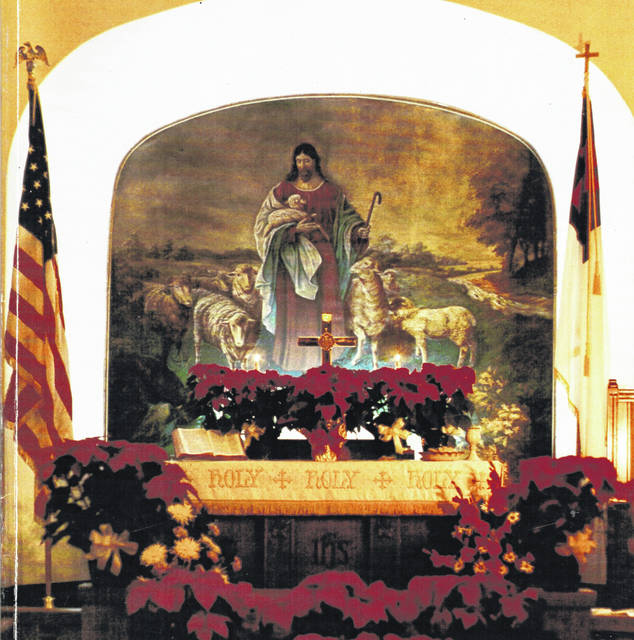 All are invited to an open house at Christ United Methodist Church, Lakeview, to view this mural behind the altar, share a meal and hear a concert.